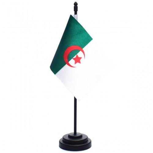 Bandeira de Mesa Argélia 6665PP