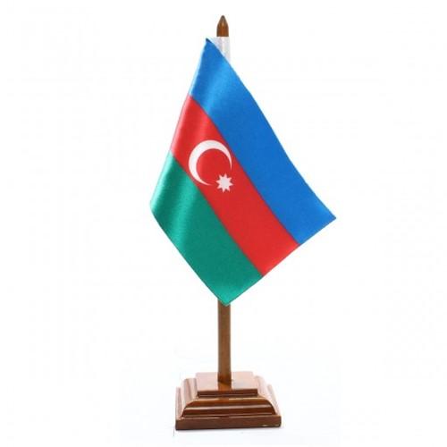 Bandeira de Mesa Azerbaidjão 6451PM