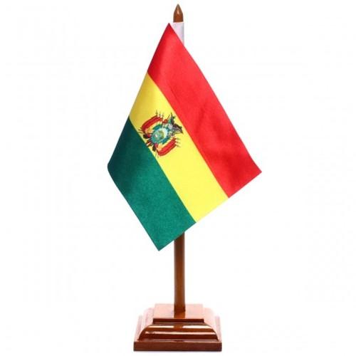 Bandeira de Mesa Bolívia 6461PM