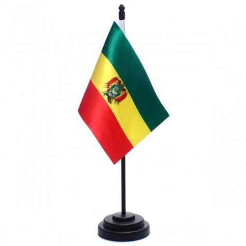 Bandeira de Mesa Bolívia 6681PP
