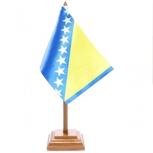 Bandeira de Mesa Bósnia 6462PM