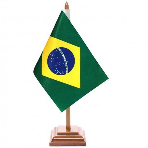 Bandeira de Mesa Brasil 6356PM