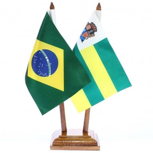 Bandeira de Mesa Brasil e Aracajú 6410PM