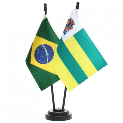 Bandeira de Mesa Brasil e Aracajú 6493PP