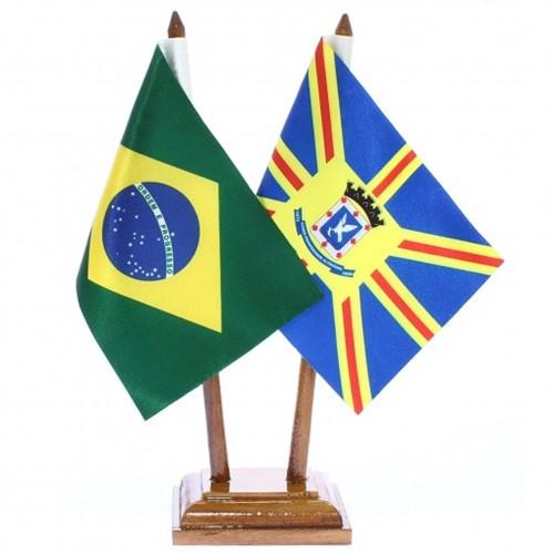 Bandeira de Mesa Brasil e Campo Grande 6414PM