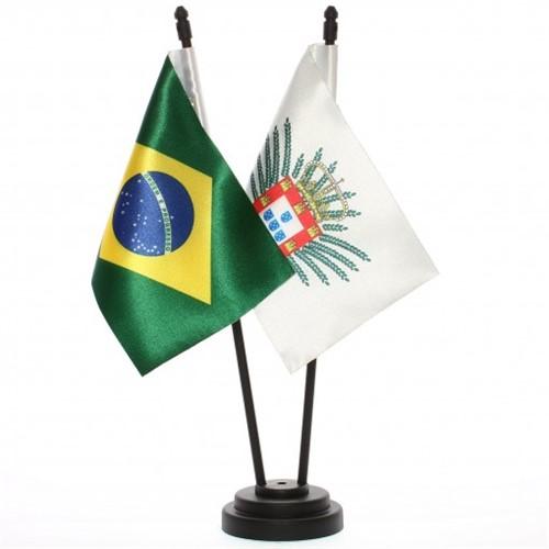 Bandeira de Mesa Brasil e Domínio Espanhol 6535PP