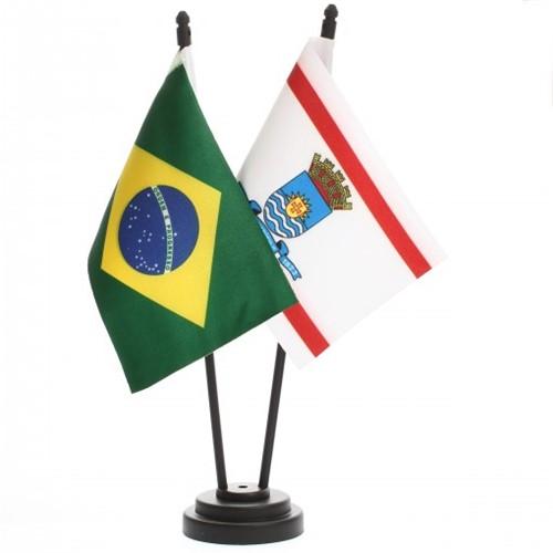 Bandeira de Mesa Brasil e Florianópolis 6500PP