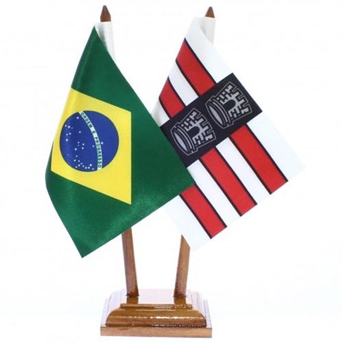 Bandeira de Mesa Brasil e João Pessoa 6420PM