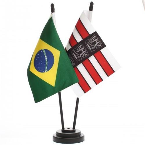 Bandeira de Mesa Brasil e João Pessoa 6503PP