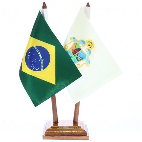 Bandeira de Mesa Brasil e Manaus 6423PM