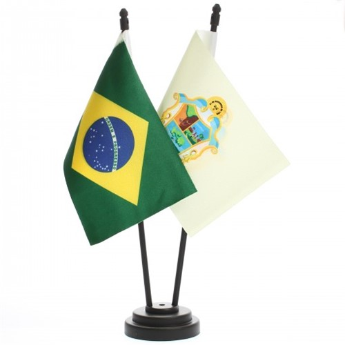 Bandeira de Mesa Brasil e Manaus 6506PP