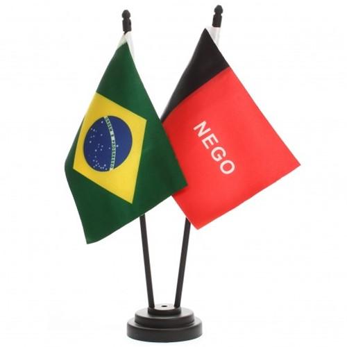 Bandeira de Mesa Brasil e Paraiba 6451PP