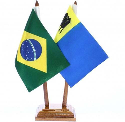 Bandeira de Mesa Brasil e Porto Velho 6427PM