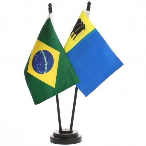 Bandeira de Mesa Brasil e Porto Velho 6510PP