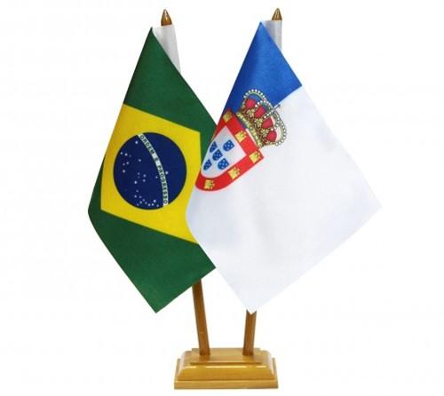 Bandeira de Mesa Brasil e Regime Costitucionalista 6529PM