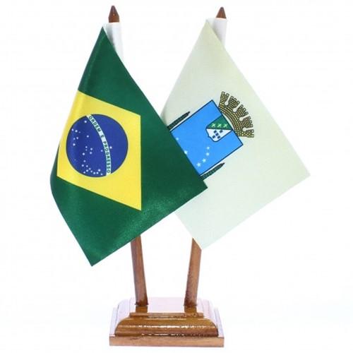 Bandeira de Mesa Brasil e São Luiz 6432PM