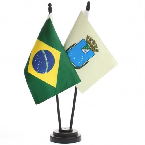 Bandeira de Mesa Brasil e São Luiz 6515PP