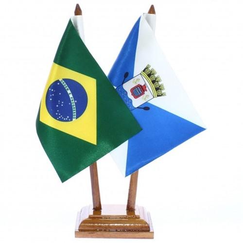 Bandeira de Mesa Brasil e Teresina 6434PM