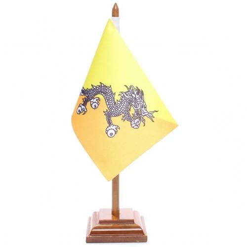 Bandeira de Mesa Butão 6468PM