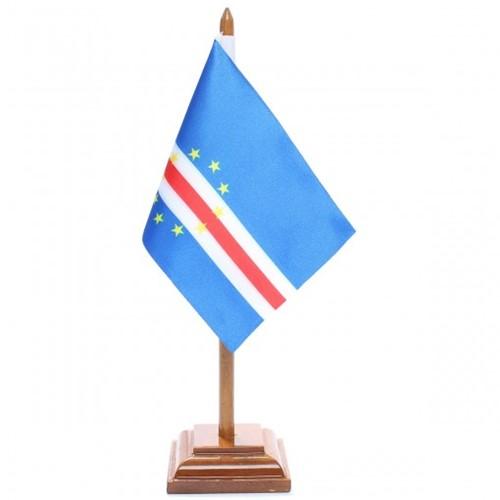 Bandeira de Mesa Cabo Verde 6469PM