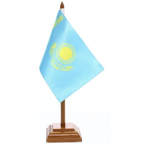 Bandeira de Mesa Cazaquistão 6473PM
