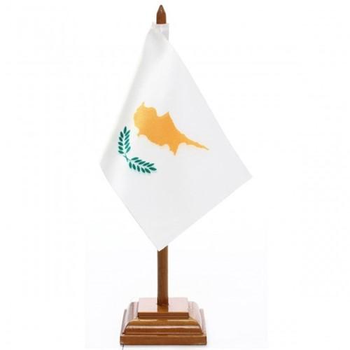 Bandeira de Mesa Chipre 6477PM