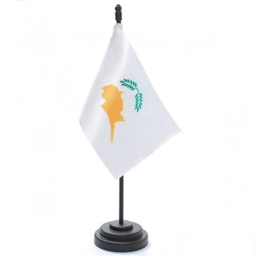 Bandeira de Mesa Chipre 6697PP