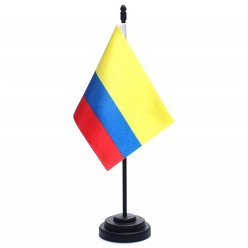 Bandeira de Mesa Colômbia 6699PP