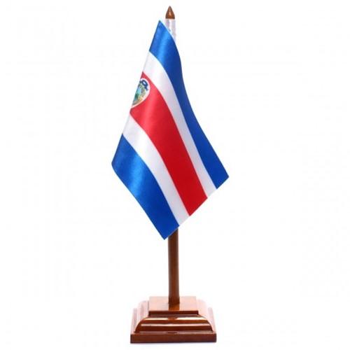 Bandeira de Mesa Costa Rica 6485PM