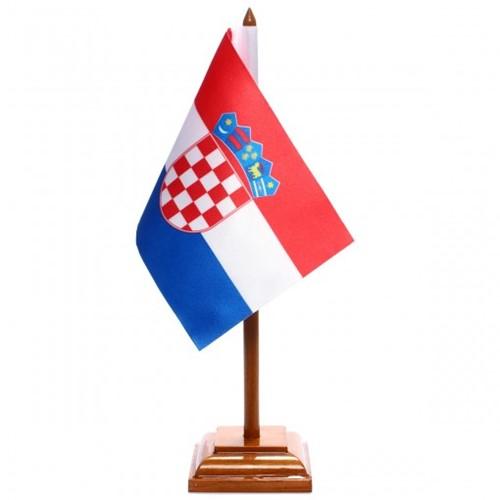 Bandeira de Mesa Croácia 6486PM