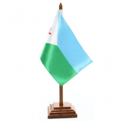 Bandeira de Mesa Djibouti 6489PM