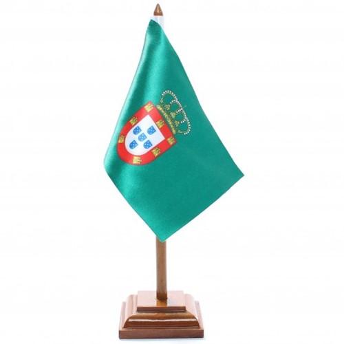 Bandeira de Mesa Dom Pedro II de Portugal 6411PM