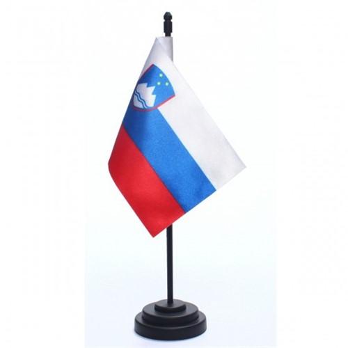 Bandeira de Mesa Eslovênia 6718PP