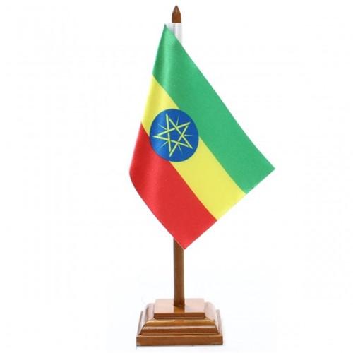 Bandeira de Mesa Etiópia 6502PM