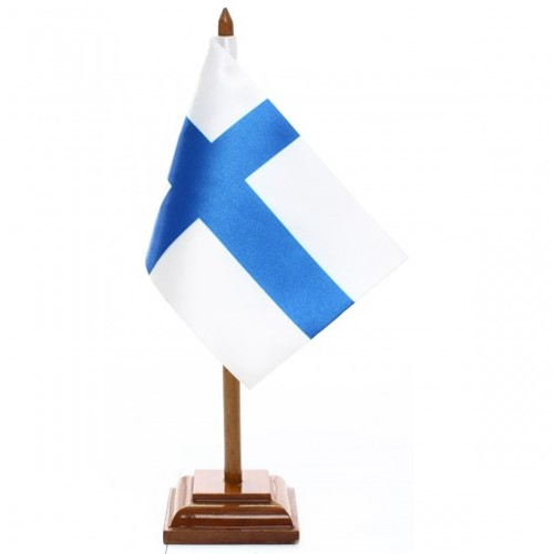 Bandeira de Mesa Finlândia 6505PM