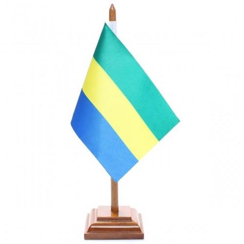 Bandeira de Mesa Gabão 6507PM