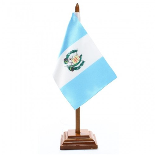 Bandeira de Mesa Guatemala 6516PM
