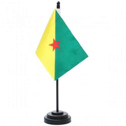 Bandeira de Mesa Guiana Francesa 6739PP