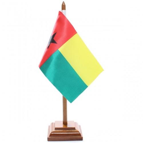Bandeira de Mesa Guiné Bissau 6521PM