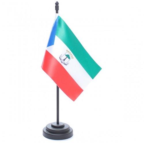 Bandeira de Mesa Guiné Equatorial 6742PP