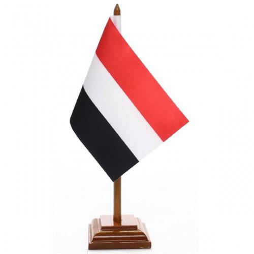 Bandeira de Mesa Iêmen 6528PM