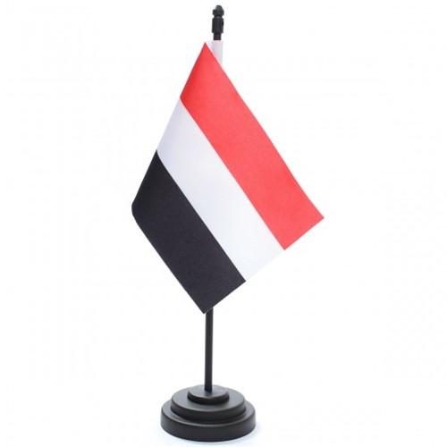Bandeira de Mesa Iêmen 6748PP