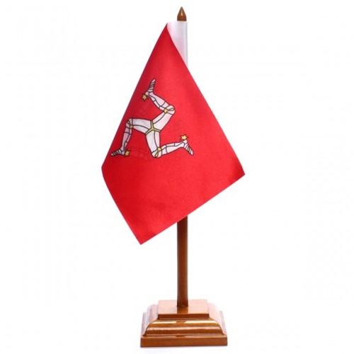 Bandeira de Mesa Ilha de Man 6529PM