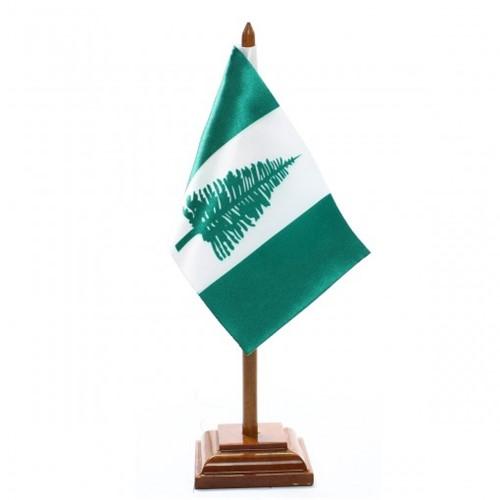 Bandeira de Mesa Ilha Norfolk 6530PM
