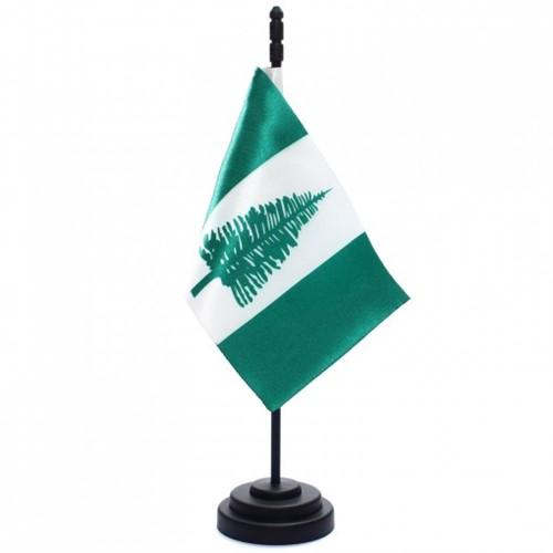 Bandeira de Mesa Ilha Norfolk 6750PP