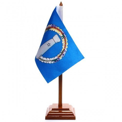 Bandeira de Mesa Ilhas Mariana do Norte 6535PM