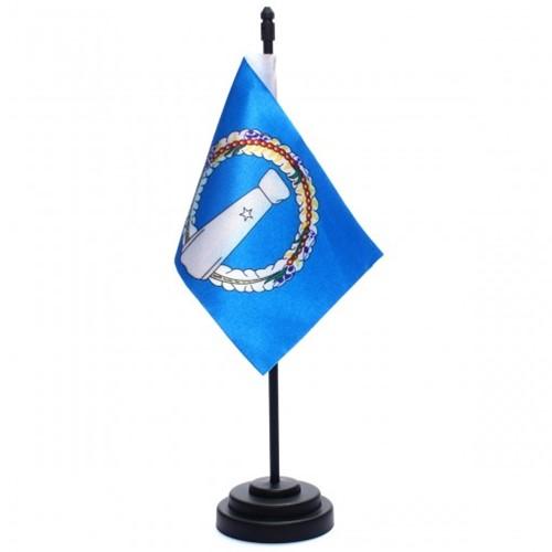 Bandeira de Mesa Ilhas Mariana do Norte 6755PP