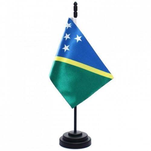 Bandeira de Mesa Ilhas Salomão 6757PP