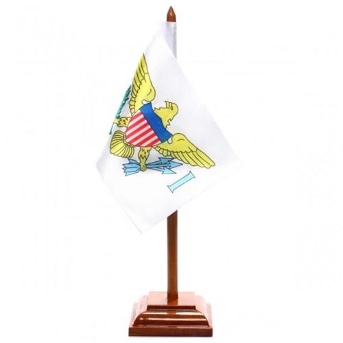 Bandeira de Mesa Ilhas Virgens Americanas 6538PM