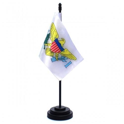 Bandeira de Mesa Ilhas Virgens Americanas 6758PP